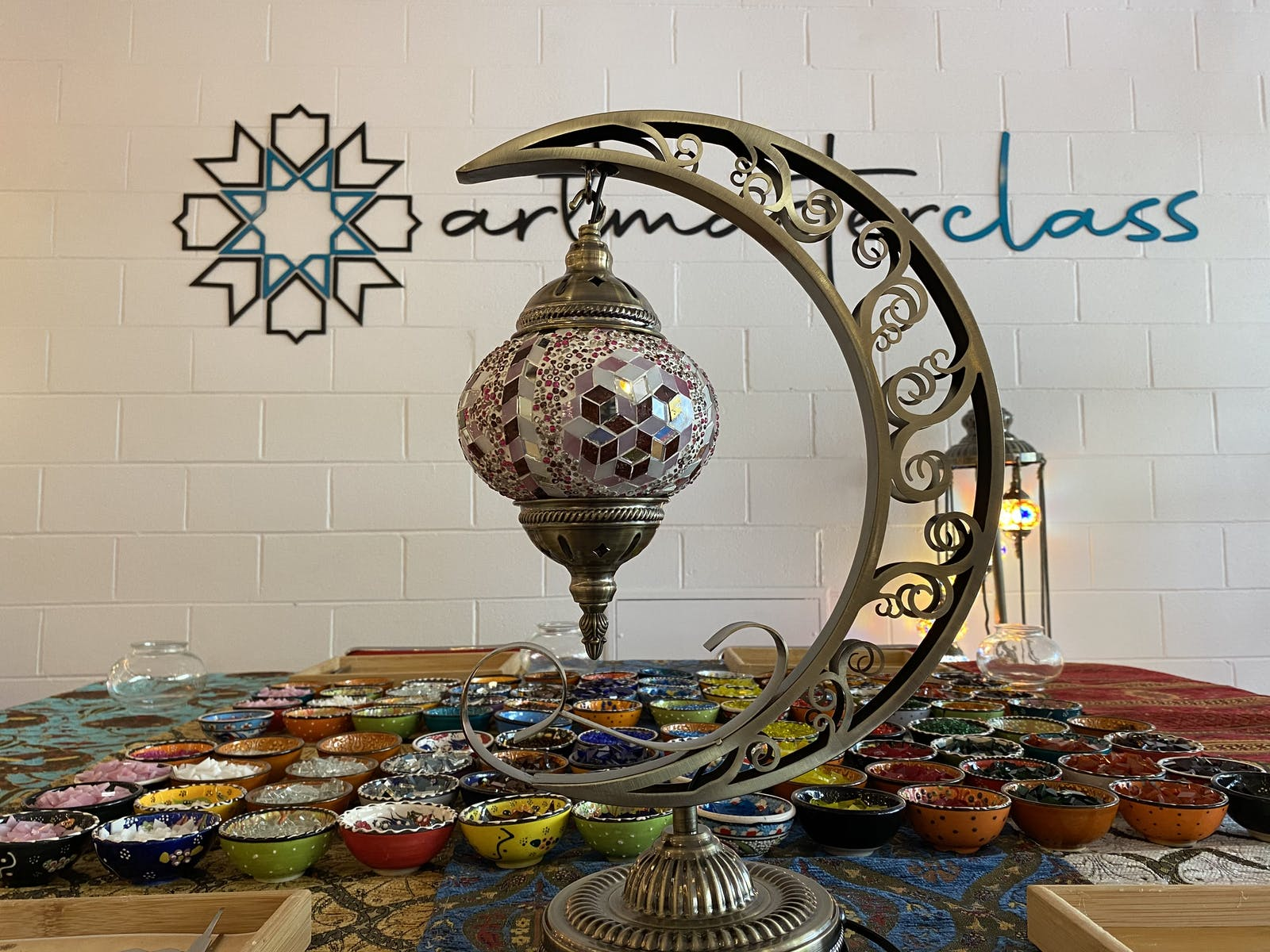 Image for Turkish Mosaic Lamp Class